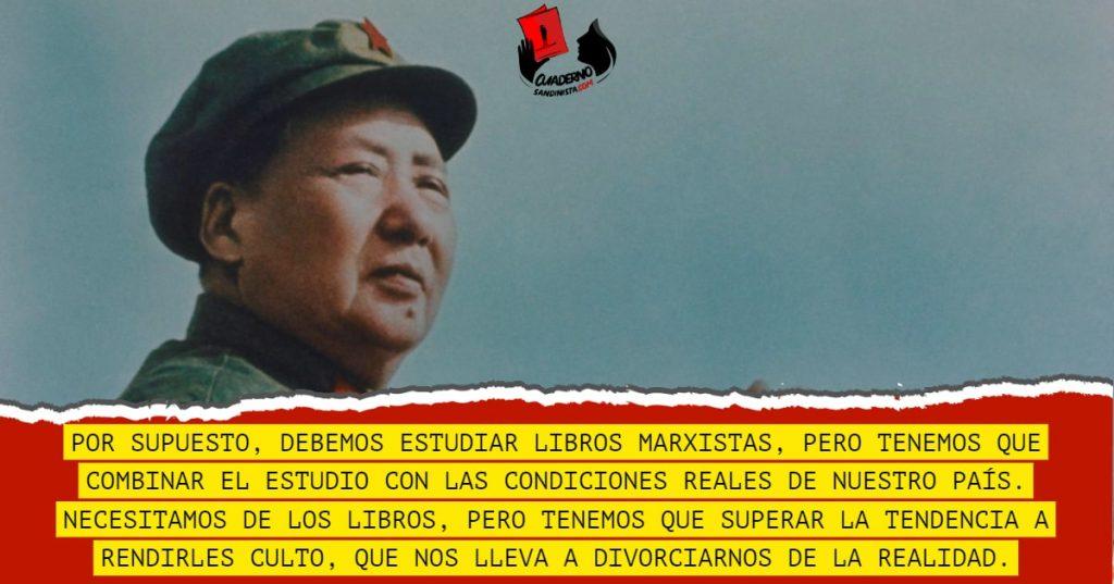 Mao Tse Tung Contra El Culto A Los Libros Cuaderno Sandinista